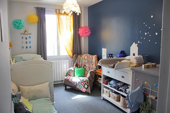Galex y pense la d co de la chambre de b b concours la fin de ce billet Deco chambre bebe garac2a7on taupe et bleu