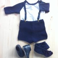 T-Shirt American Apparel / Short en laine Bout'Chou pour Monoprix / Chaussons DPAM