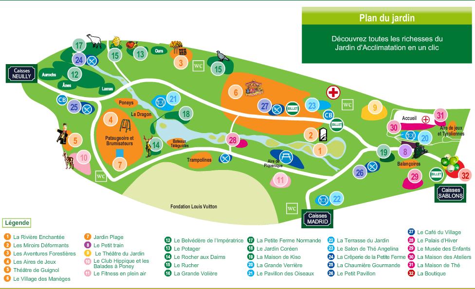 Idee sortie les parcs parisiens le jardin d - Gymboree jardin d acclimatation ...