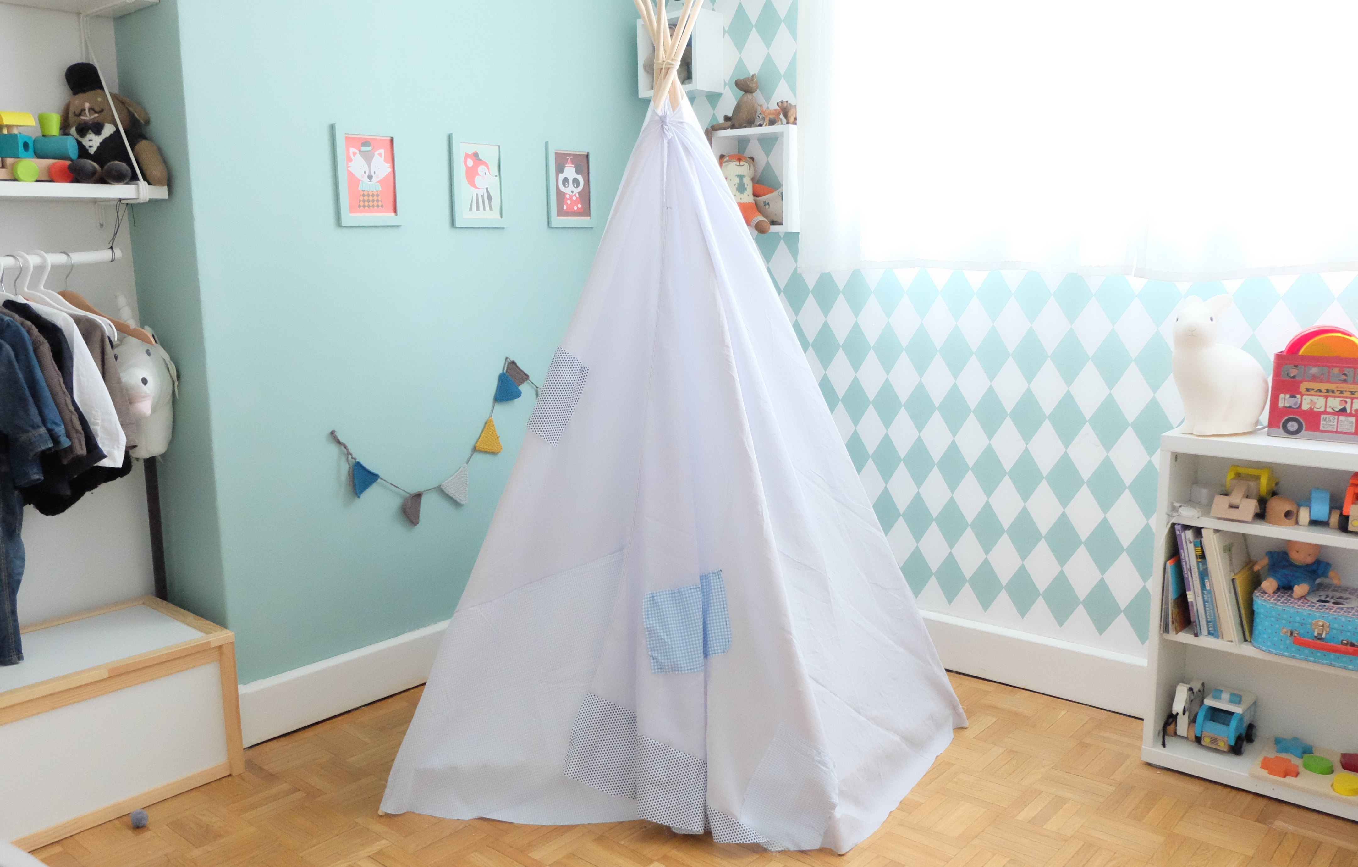 Diy Un Tipi Simple Et Rapide En Collaboration Avec Dawanda Charlie S Birthday 2