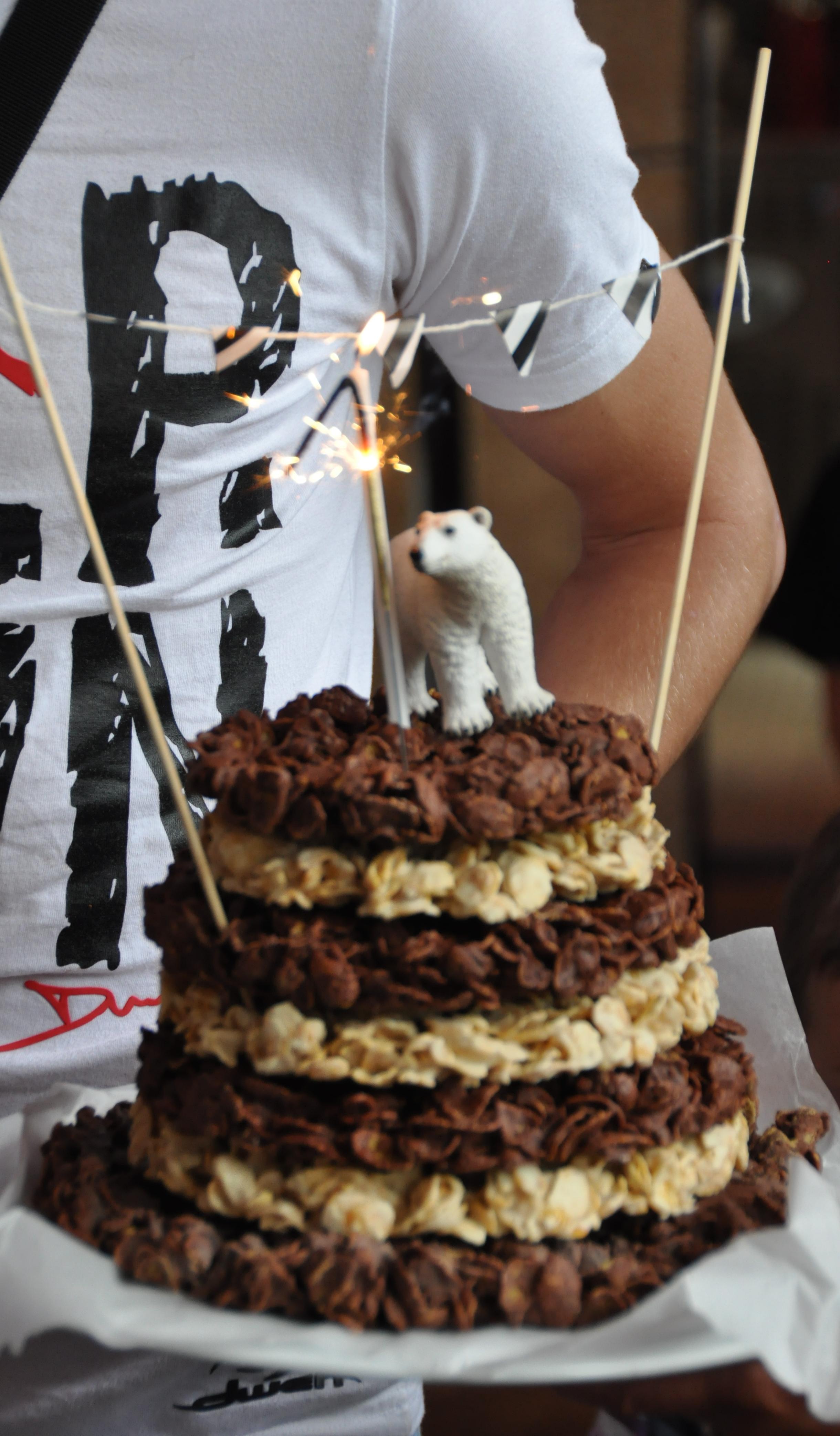 Recette de piece montee en gateau au chocolat