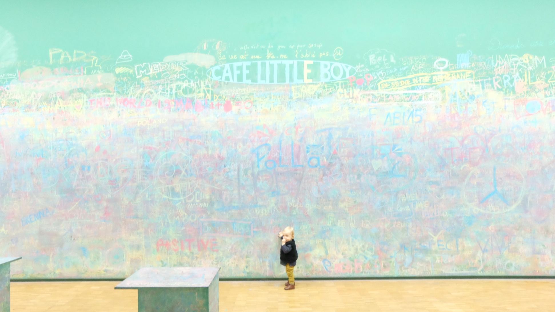 Balade au mus e centre pompidou et guide etape par etape - Peinture pour ecrire sur les murs ...