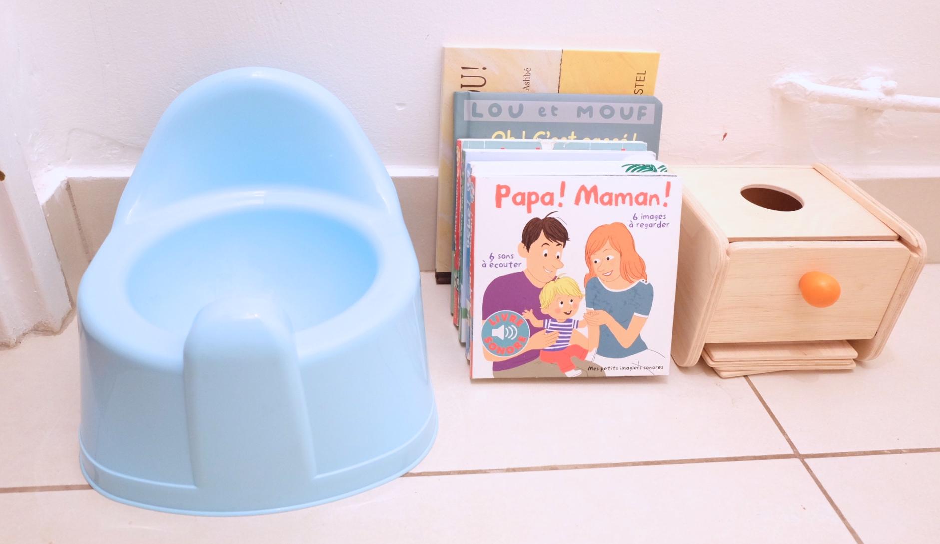 Activit petits le cas du pot la propret de bebe - Bebe et le pot ...